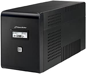 Aiptek PowerWalker VI 2000 Onduleur UPS Line Interactive Affichage LCD (Import Allemagne)
