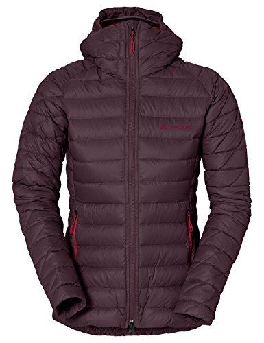 VAUDE Kabru giacca da donna con cappuccio II Rosso - Raisin