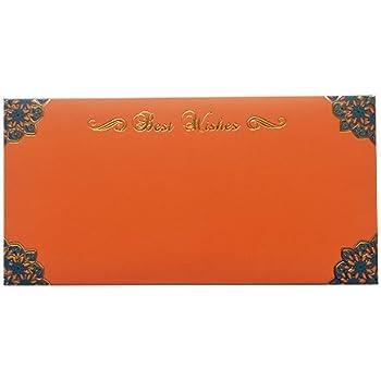 Orange Gift Envelope