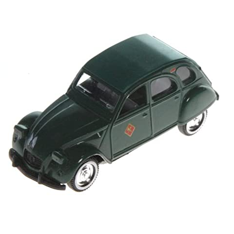 Voitures miniature collection Citroen 2cv 1/32 Véhicules ou voiture miniatures. - Vert guardia civile