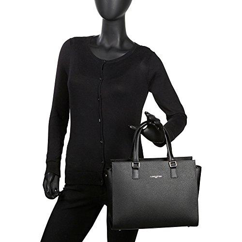 Lancaster Adele borsa pelle 31 cm schwarz, schwarz
