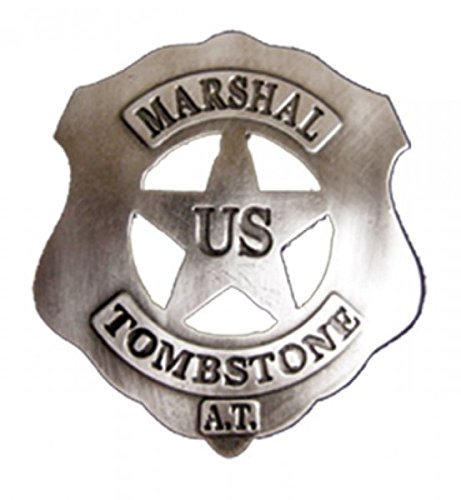 Denix US-Marshall Badge Tombstone Sheriff Stern Cowboy Western