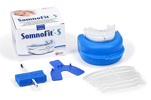 Somnofit - Premium Anti-Schnarchschiene - effektiver Schnarchstopper - Lösung gegen Schnarchen Made in Switzerland - eine sehr gute Alternative zu Schnarch-Mundstücken, Nasenklammern, Nasenpflastern, Nasensprays und Anti-Schnarchringen (SomniShop Set S 400)