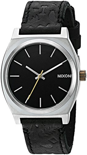 Nixon Men's A0452222-00 Time Teller Analog Display Japanese Quartz Black Watch