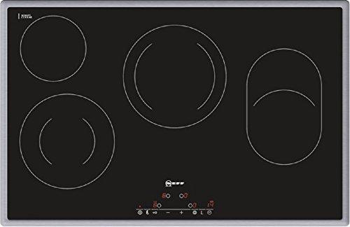 Neff TD 1383 N Kochfeld Elektro / CERAN®/Glaskeramik / 79.5 cm / 4 HighSpeed-Heizkörper / schwarz