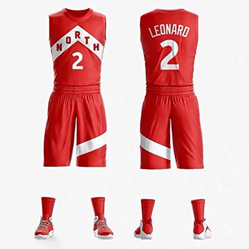 - NBA Raptors Basketball Jerseys Set Swingman Jersey Basketball-Trikot Retro Gym Vest-XXXL ()