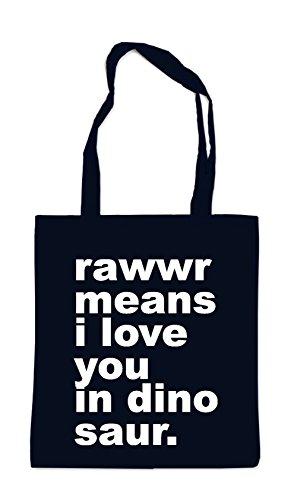 Rawwr Means... Sac Noir
