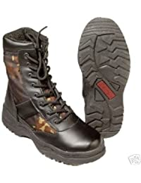 German Armed Forces Combat Boots Camouflage - UK 10 by Unbekannt
