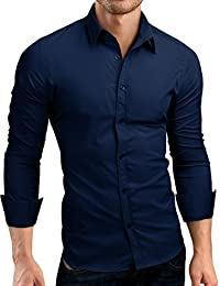 Grin&Bear coupe slim chemise homme, SH500