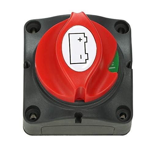 Zufriedenstellendes Produkt Perfeclan 60V Batteriehauptschalter Trennschalter zum Ein- und Ausschalten for RV Batterie Marine Boot Auto Fahrzeug
