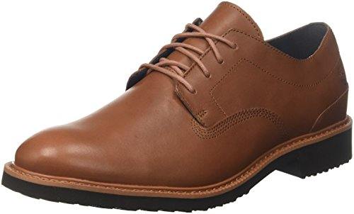 Timberland Herren Brook Park Light Oxfords, Braun (Medium Brown Lepacho Soft 210), 45,5 EU