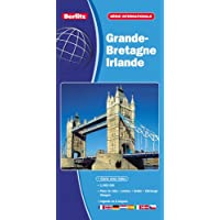 Grande Bretagne - Irlande, carte routière et touristique (échelle : 1/800 000) - Plans du centre-ville de Dublin…
