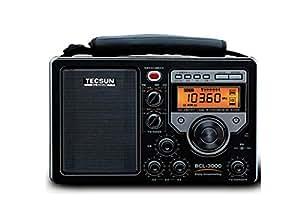 Tecsun BCL3000 numérique UKW FM /LW LCD Display récepteur radio à ondes courtes