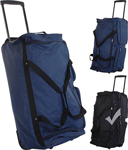 Borsa da viaggio con ruote, Blau, XL nero