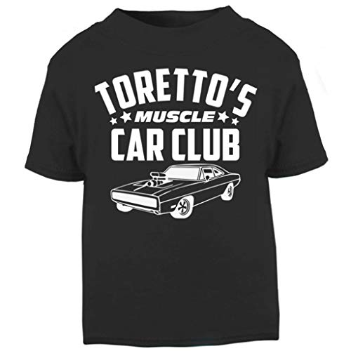 (Fast and The Furious Torettos Muscle Car Club Baby and Toddler Short Sleeve T-Shirt)
