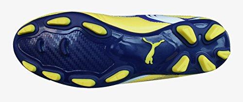PumaV6-11 IFG - Sneaker Unisex - Adulto VIBRANT YELLOW/PURPLE/WHITE