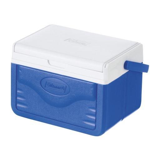 Coleman Kühlbox Fliplid 5, blau/weiß (22 x 16 x 14 cm)