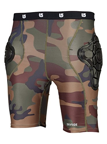 Burton Jungen Protektor TOTAL IMPACT Shorts Highland Camo, M -