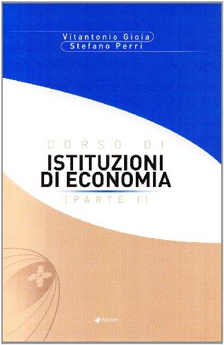 Corso di istituzioni di economia: 1