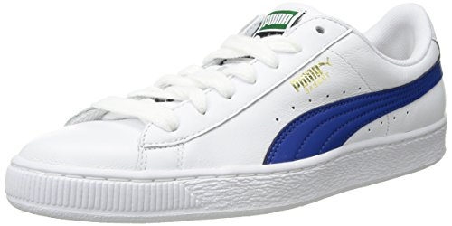 Preisvergleich Produktbild PUMA Men's Basket Classic LFS Sneaker,  White-Turkish Sea,  11.5 M US