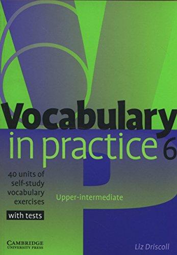 Vocabulary in Practice 6