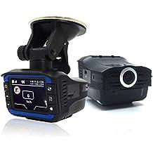 D Dash CAM HD 720P, 2 en 1 Anti láser Detector de Radar