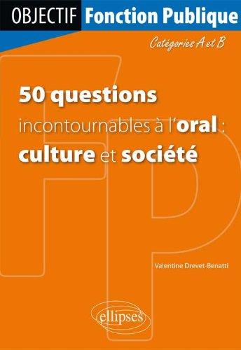 50 Questions Incontournables à l'Or...
