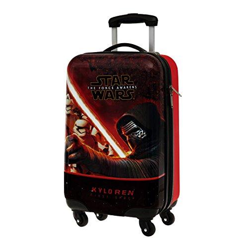 4641451 Trolley bagaglio a mano rigido in ABS Star Wars 55x33x20 cm. MEDIA WAVE store