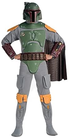 STAR WARS ~ Boba FettTM (Deluxe) - Adult Costume Men: STANDARD