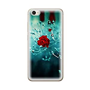 Skintice Designer Soft Case with direct printing for Vivo Y66