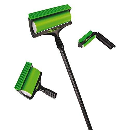 CrazyGadget® Rollie GENIE 3pcs set riutilizzabile levapelucchi lavabile Sticky Dust COB web Remover lavoro su moquette, ceramica, mobili e interni auto