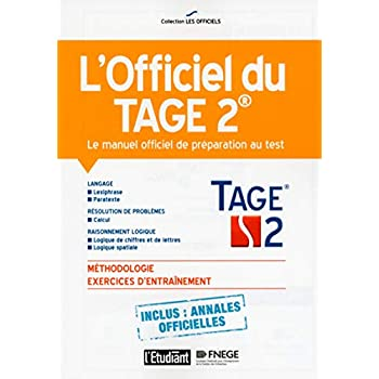 L'officiel du TAGE 2 - Le manuel officiel de préparation au test