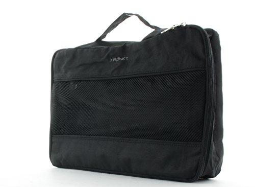 Franky Packhilfe Koffer Organizer Reisegepäck A4 Schwarz