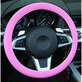 J & L Universal Auto silicona Volante protectora Volante móvil antideslizante transpirable Volante funda lenkradabdeckung lenkradabdeckung Auto