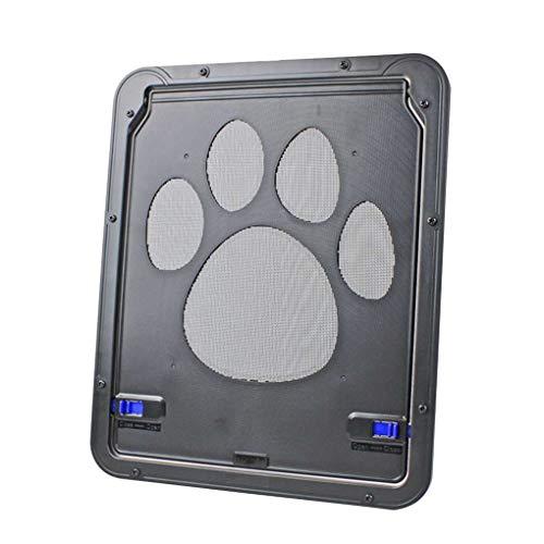 Bomcomi ABS Automatical Pet Tore Katzen Tür für Screen-Fenster Home Cottage Nylon-Mesh-Welpen-Kätzchen-Zaun Tür - Pet-tür-fenster