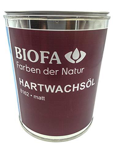 Biofa Biona Hartwachsöl matt, Holzoberflächen Innen, extra matt Größe 0,75 L