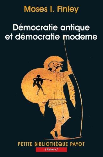 Démocratie antique et démocratie moderne