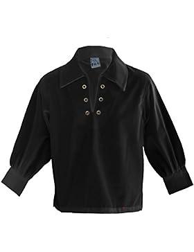 I Luv LTD Boys Basic Ghillie Shirt Black