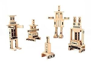 House Of Toys - 778567 - Jeu De Construction - 200 Pilo Robots
