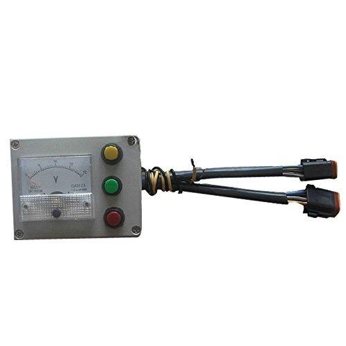 sinocmp Panel Tester Bagger Zugang Spannung 24V Gas Motor Test für Caterpillar E320B E320C 320B 320C Bagger Teile, 3Monate Garantie (Motor Caterpillar)