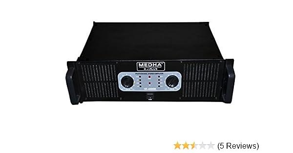 Medha DJ Plus 4000 Watt Double Channel High Power Mosfet DJ Amplifier