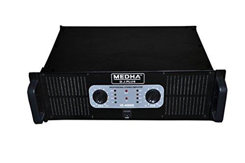 Medha D J  Plus 4000 Watt Double Channel High Power Mosfet DJ Amplifier