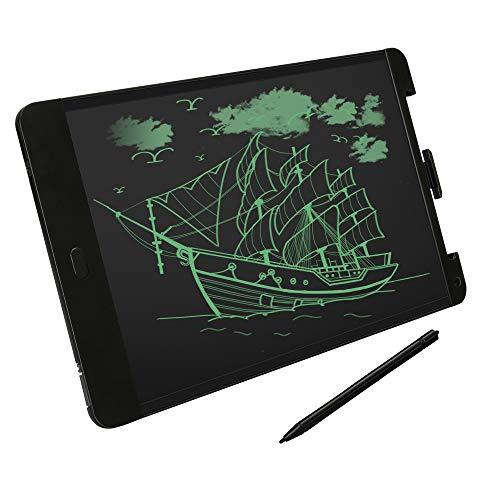 Schreibtafel Kinder LCD 13 Zoll Grafiktabletts Elektronische Schreibtafel mit Stift Writing Tablet Bildschirmsperre mit Anti-Clearance Funktion Schreib-Tablet für Student Lehrer Designer