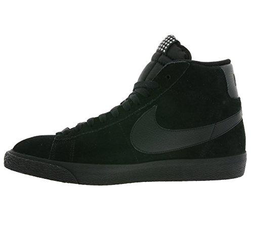 Nike Blazer Mid Prm Vntg, Chaussures de Sport-Basketball Homme, Bleu, Talla Schwarz