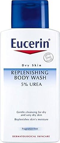 Eucerin 5 Percent Urea Replenishing Body Wash, 200 ml