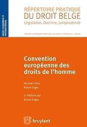 Convention européenne des droits de l'homme (RPDB - Droit européen et international)