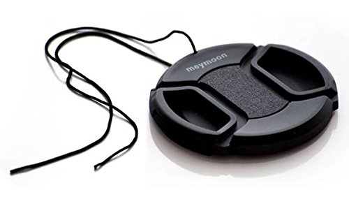 Meymoon Qualitäts Objektiv Deckel 72mm mit Clip Verschluss Cap (Kappe)