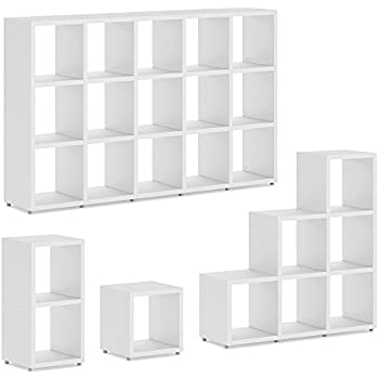 ikea kallax tag re blanc 77 x 77 cm cuisine maison. Black Bedroom Furniture Sets. Home Design Ideas