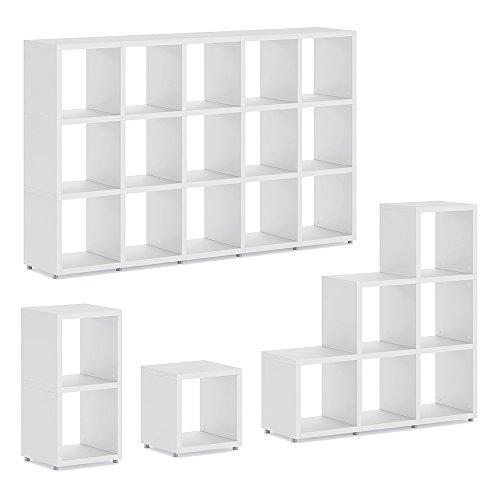 *BOON 1×1 Regalsystem | modular & flexibel | 38x40x33 cm (LxHxT) – weiß*