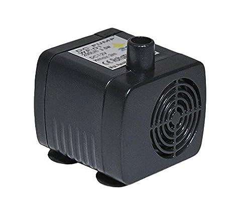 PRO|AQUARIA Mini Wasserpumpe fürs Aquarium 200L/H 3,5W 12V | Leistungsstarke, sparsame & leise Mini-Aquariumpumpe! | Aquarium Pumpe Mini